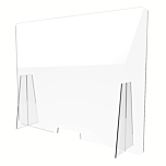 Divisorio in plexiglass 120x90 cm