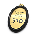 Portachiavi per hotel in plexiglass personalizzato