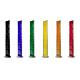 Espositore a pavimento monofacciale fondo colorato con 6 tasche f.to A4 con divisorio